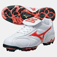 MIZUNO JAPAN Baseball Shoes Wave Franchise Prime Edition 2KP557 White Red
