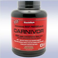 MUSCLEMEDS CARNIVOR (4 LB / 56 SERVINGS) beef protein isolate powder w/ creatine