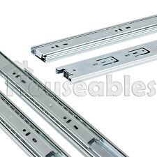 "Set of 10 pairs 10"" - 24"" Ball Bearing Full Extension Drawer Slides 100lb"