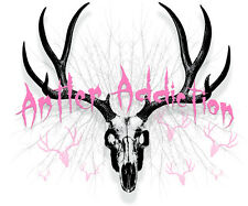 Women's Deer Skull hunting t shirt,compound bow,archery,pink,hunter,girls,mule