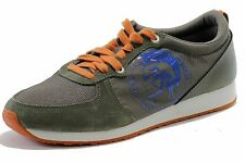 Diesel Men's Fashion Sneakers A-Head Bungee Cord/Olive Shoes