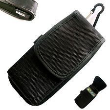 Nylon Belt Loop Hip Velcro Holster Case Cover for Mobile Phone Universal Pouch