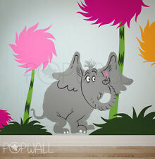 Children Wall Decals Wall Sticker - Dr seuss Characters, Horton the elephant
