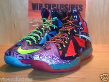 NIKE 10 LEBRON X WHAT THE MVP 2013 EXTREMELY LIMITED DS 100% AUTHENTIC