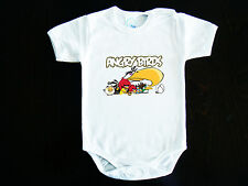 Angry Birds LOGO BABY BODYSUIT ONESIE ONE PIECE CLOTHING ROCK HARD FUNK