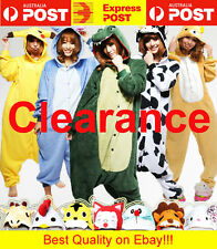 Animal Onesies Kids Adult Unisex Kigurumi Party Cosplay Costume Pyjamas Pajamas