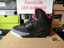 Nike Air Yeezy 1 Black/Pink Blink Kanye West Jayz 366164 003 Men Size 9 Shoes