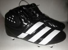 NEW Mens Size 8.5 ADIDAS Malice D Black White Detachable Football Cleats