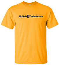 British Caledonian Vintage Logo 80s British Airline T-Shirt