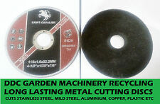 Angle grinder cutting discs 1 pack of 5 discs ultra thin long lasting fast post