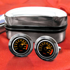 Speedometer Design Cufflinks in Chrome Box