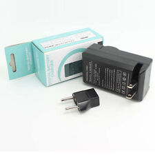 Camera Battery Travel AC Charger For Canon LP-E6 LPE6 EOS 5D Mark II 60D 7D DSLR