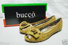 New Bucco Open-Toe Cutout Flats Ellie Color & Size Selection Available
