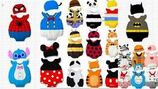 Baby Boy Girl Animal Costume Photo Batman Spiderman Hat Beanie Tigger Mickey