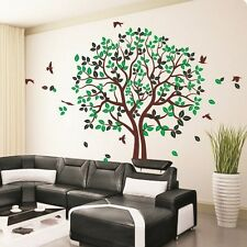 The HUGE Loving Tree Birds II wall stickers Decal Removable Art Vinyl Decor DIY