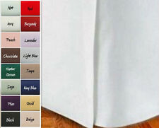 Royal Tradition Microfiber Solid Bed Skirt All Colors & All Sizes