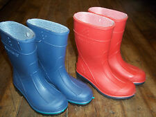 Children's Solid Color Rubber Rain Boots
