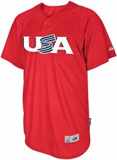 Team USA Majestic 2013 World Baseball Classic Authentic Batting Practice Jersey