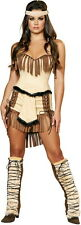 Adult Women Indian Lust Mistress Native American Costume Halloween Outfit New