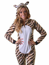 BNWT Adult Tiger Onesie. Soft, Cuddly and Fun, All-in-One Sleepsuit