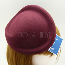 Vintage Wool Felt Flight Attendant Groove Pillbox Hat Fascinators MULTI COLORS