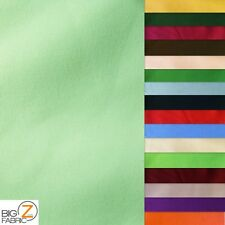 """SOLID POLY COTTON FABRIC - 23 Colors - SOLD BTY 58""""/60"""" WIDTH POLYCOTTON"""