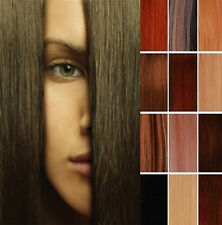 """US STOCK 15""""18""""20""""22""""24""""26""""28"""" Clip In Remy Real Human Hair Extensions Hair Clip"""