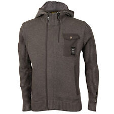 Crosshatch 'Kowly' Knitted Jacket - Mens - Charcoal