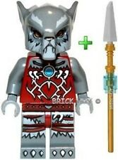 LEGO LEGENDS OF CHIMA - WAKZ FIGURE + FREE SPEAR - V.FAST - BESTPRICE - NEW