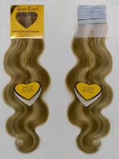 "18"" SupeRemi Tape-In Tabs Body Wave 100% Human Remi Hair Extensions"