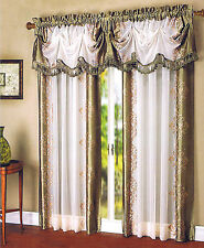 "DANBURY panel 54""X 84"" Or Valance 52"" X 20""  NEW (Regal Home)"