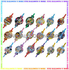 BIRTHDAY PARTY STRAWS (20+ DESIGNS) PARTY SUPPLIES -1 PACK