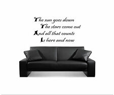 (59) The Wanted Lyrics, Wall Art, Bedroom Stickers, Wall Decal, Vinyl graphic
