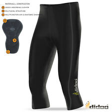 Mens New 3/4 Cycling Pant Coolmax® padding cycle short Didoo Tights Bike Legging
