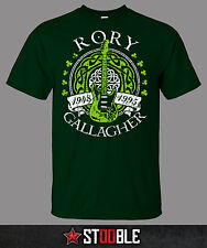 Rory Gallagher Guitar T-Shirt - New - Direct from Manufacturer