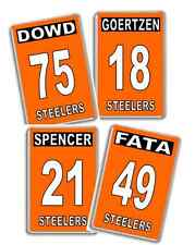 Sheffield Steelers Player name and number Ice Hockey Fridge Magnet
