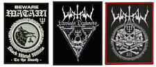 Watain Sew On Patches NEW OFFICIAL. Choice of 2 Designs