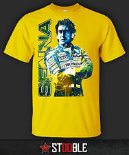 Ayrton Senna T-Shirt - New - Direct from Manufacturer