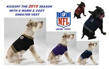 NFL Officially Licensed Pet Sweaters (Assorted Teams & Sizes)