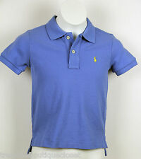 Polo Ralph Lauren Toddler Boy's Classic-Fit Mesh Polo, Light Blue