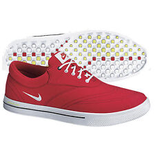 NIKE MENS GOLF SHOES LUNAR SWINGTIP CANVAS 552078-600 MEDIUM WIDTH SIZES