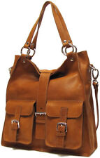 Floto Livorno Leather Tote Bag, Italian Handbag