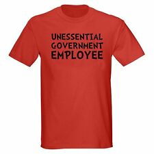 UNESSENTIAL GOVERNMENT EMPLOYEE FUNNY SHUTDOWN POLITICS POLITICAL T-SHIRT