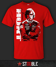 James Hunt T-Shirt - New - Direct from Manufacturer