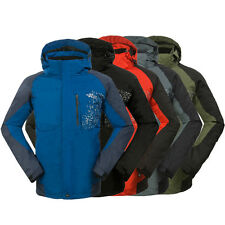 New Mens 3in1 Clothes Waterproof Soft Shell Fleece Coat Outdoor Ski Snow Jackets