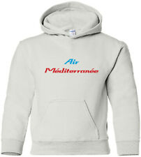 Air Méditerranée Vintage Logo French Airline HOODY