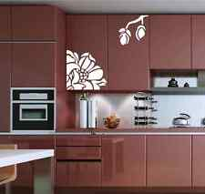Hand Carving magnolia Flower furniture fridge stickers Wall stickers UK