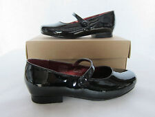 COLE HAAN GIRLS KIDS MARY JANES AIR KENZI MJ 2 BLACK PATENT SHOES SIZE 12TODDLER