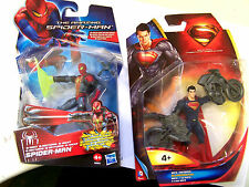 Spiderman & Superman 10cm Action Figures Ideal Christmas Stocking fillers