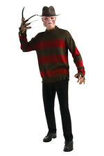 A Nightmare on Elm Street Freddy Krueger Deluxe Sweater Halloween Costume 889414